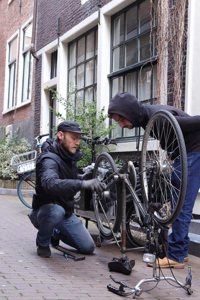 Bike repair Amsterdam